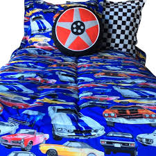 Superhero Twin Bedding Muscle Car Bunk Bed Hugger Muscle Car Bedding