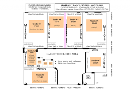 home element dance studio floor plan and rental facility