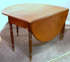 Cherry Drop Leaf Table Search All Lots Skinner Auctioneers