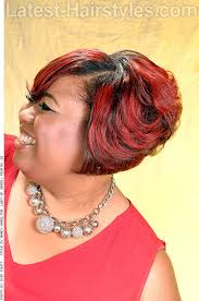 roller wrap hairstyle 16 side swept hairstyles for black women with class