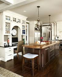 desk in kitchen ideas kitchen desk chair clever ideas to design a functional office in