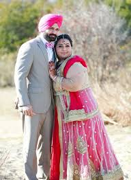 engagement lengha sikh ring ceremony by keith cephus photography