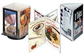 Table Tent Holders by Menu Holders Sign Holders Covers Outdoor Cases U0026 Floor Stands