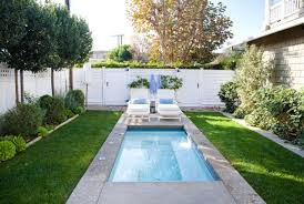 swimming pool cozy small backyard pool design with small
