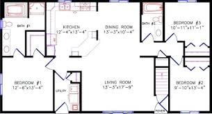 one story house floor plans simple one story house plans wiredmonk me