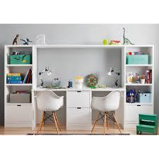 le de bureau pour enfant ensemble bureau bibliothèque et caisson de rangement asoral