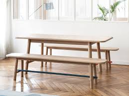 hartô launches an expandable table u0026 matching bench design milk