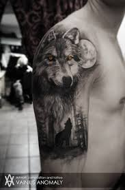 collection of 25 lone wolf tattoo