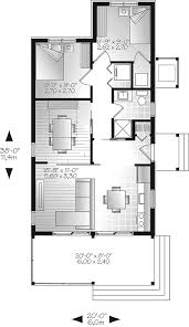 tranquil haven craftsman cabin plan 032d 0811 house plans and more