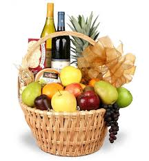 wine basket grand celebrations fruit and wine basket wine fruit baske