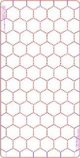 amazon com 2 inch hex grid stencil dot pattern toys u0026 games