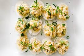 deviled egg dishes crab rangoon deviled eggs i am a food i am a food