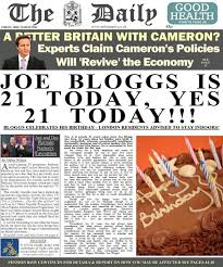 inthepaper co uk fake personalised newspapers for all occasions