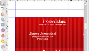 Creating Business Card Business Card With A Grunge Background U2013 Inkscape Tutorials Blog