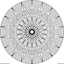 coloring pages geometric design coloring pages printable