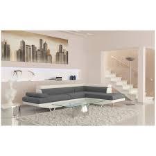 canapé d angle droit ou gauche canapé d angle gauche convertible blanc gris achat vente