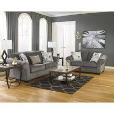 Nolana Charcoal Sofa by Ashley Furniture