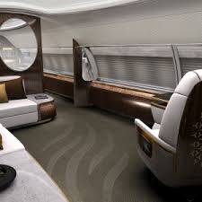 Airplane Interior Designq U0027s Elegante Airplane Interior Is A Mobile Residence For The