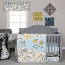 Waverly Crib Bedding Trend Lab Waverly Baby Pom Pom Spa 4 Crib
