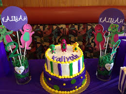 Diy Barney Decorations 14 Best Kaliyah U0027s 2nd Barney Birthday Theme Party Images On