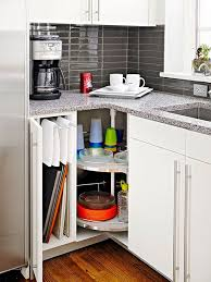 small kitchen corner cabinet 40 organization and storage hacks for small kitchens architecture