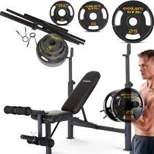 Weight Bench With Bar - weight bench set ebay