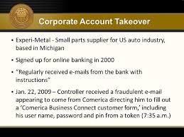 Comerica Business Credit Card Payment Trends Fraud Risk Management U0026 Emv Ppt Download