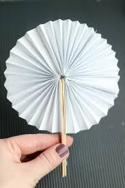 diy fans diy paper fans gluesticks