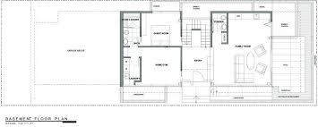 home floor plans california basement floor plan exceptional glass wood home in los angeles
