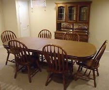 Dining Sets In RoomDining Room MaterialOak ColorMedium Wood - Oak dining room sets with hutch