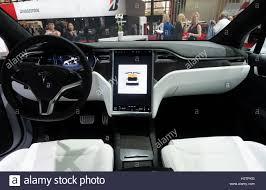 tesla inside hood paris france new cars inside stock photos u0026 paris france new cars