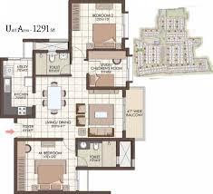Toddler Room Floor Plan by Prestige Kew Gardens By Prestige Group In Bellandur Bangalore