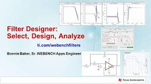 Webench Filter Designer