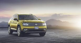 2018 Vw Atlas Is A Brand New 7 Seater Large Crossover For North