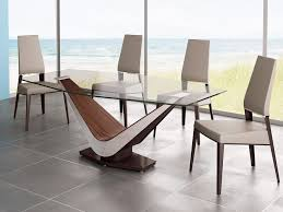 Modern Contemporary Dining Table Dining Room Tables Modern Design Chunky Solid Oak Dining Table And