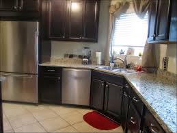Kitchen Cabinet Restaining Kitchen Kitchen Cabinets Colors And Designs Dark Oak Cabinets