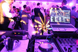 wedding dj belvedere banquet wedding with dj table mdm entertainment