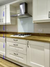 standard kitchen cabinet sizes chart in cm kitchen worktop height info advice kitchinsider