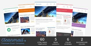 rocket mail clean u0026 modern email template by gifky themeforest
