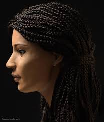 modern egyptian hairstyles brought to life 2000 years later pursuit by the university of