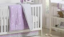 purple baby crib bedding purple nursery decor
