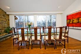 Home Additions Portfolio Gerety Building  Restoration - Dining room addition