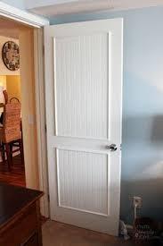 Interior Door Makeover How To Add Molding Panels To A Flat Door Hollow Doors
