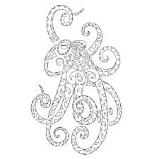 octopus tentacles drawing tattoo tribes dai forma ai tuoi