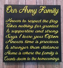 Military Home Decorations by Army Family Military Family Military Home Decor Gifts For