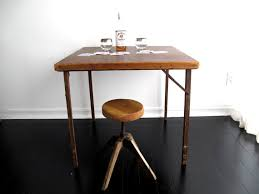 Wooden Folding Card Table Best Wooden Folding Card Table Items Similar To Antique Wood Card