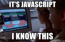 Meme Generator Javascript - it s javascript i know this unix system meme generator