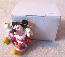 grolier disney ornaments mickey ebay
