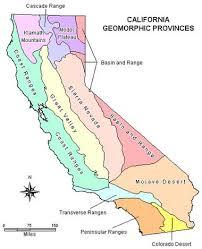 california map desert region geomorphic provinces