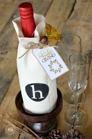 thanksgiving hostess gift thanksgiving wine bottle gift and gift